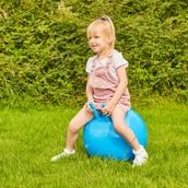 Jumping Ball - Blue - 450mm