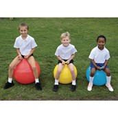 Jumping Ball - Yellow - 550mm