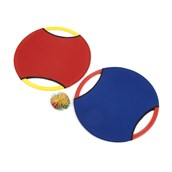 Bounce Disks and Ball - Red/Blue - Pair