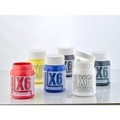 X6 Premium Acryl - 500ml - Assorted - Pack of 6