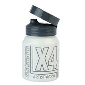 X4 Standard Acryl - 500ml - Titanium White