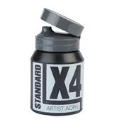 X4 Standard Acryl - 500ml - Ivory Black