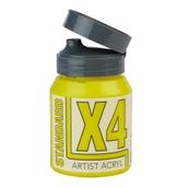 X4 Standard Acryl - 500ml - Primary Yellow