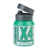 X4 Standard Acryl - 500ml - Emerald Green