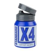 X4 Standard Acryl - 500ml - Ultramarine