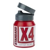 X4 Standard Acryl - 500ml - Carmine