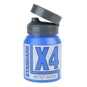 X4 Standard Acryl - 500ml - Cobalt Blue