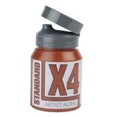 X4 Standard Acryl - 500ml - Burnt Sienna