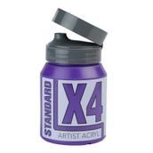 X4 Standard Acryl - 500ml - Permanent Blue Violet
