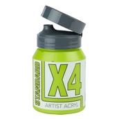 X4 Standard Acryl - 500ml - Yellow Green