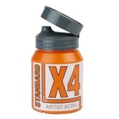 X4 Standard Acryl - 500ml - Azo Orange