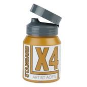 X4 Standard Acryl - 500ml - Raw Sienna