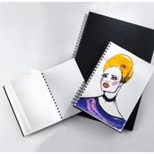 Portrait Spiral Bound Sketch Pads - A4