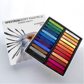 Spectrum Soft Pastels - Assorted - Pack of 48