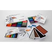Spectrum Soft Pastels - Bistre - Pack of 12