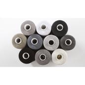 SureStitch 1000m Reel Mixed Packs - Black, Grey & White