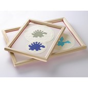 Specialist Crafts Standard Wooden Pre-Meshed Frames - A4