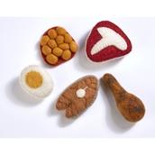 Felt Food Groups - Protein Bag