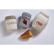 Felt Food Groups - Dairy Bag.