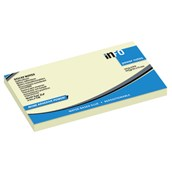 inFO Power Sticky Notes - Yellow - 75 x 125mm - Pack 12