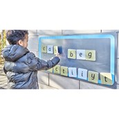 Indoor-Outdoor Magnetic Board from Hope Education