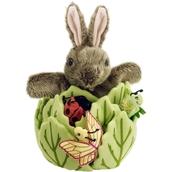 Hideaway Puppets - Rabbit in a Lettuce