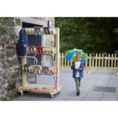 Millhouse Outdoor Double Sided Welly Storage