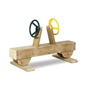 Millhouse Outdoor Two Seat Driving Set