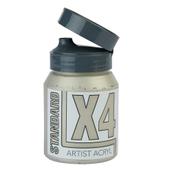 X4 Standard Acryl - 500ml - Silver