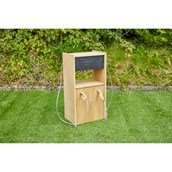 Outdoor Wooden Petrol Pump from Hope Education