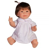 Doll with Downs Syndrome - Girl Dark Hair