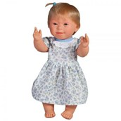 Doll with Downs Syndrome - Girl Blonde Hair