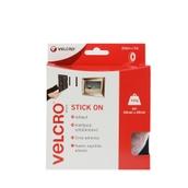 VELCRO® Brand Stick on Tape - 5m - White