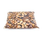 Logpile Print Wipe Clean Large Bean Cushion
