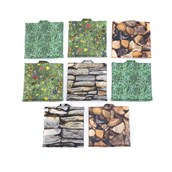 Nature Wipe Clean Sit Upon - Set of 8 - pack of 8