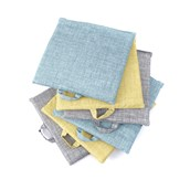 Pastels Sit Upons - Mixed Colour - Set of 6