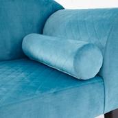 Wow Bolster Cushion - Peacock Blue