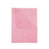 Ocean Wipes 500 x 360mm - Red - pack of 50