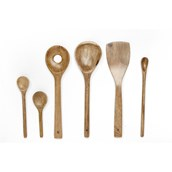 Wooden Spoons - Set of 6 from Hope Education