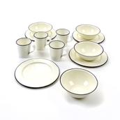 Enamel Tableware Set from Hope Education