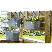 Large Metal Hanging Caddy - Set of 3 from Hope Education