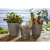 Metal Planters from Hope Education
