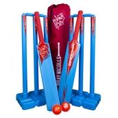 Powerplay Cricket Set - Blue/Red - Medium