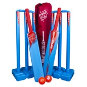 Powerplay Cricket Set - Blue/Red - Small