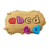 Alphabet Sand Moulds - Lowercase