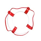Rescue Buoy - Red/White - Large