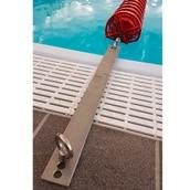Deck Level Flat Adaptor for Pool Lanes - Steel