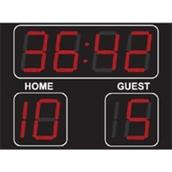 Football Scoreboard - Black - 300mm