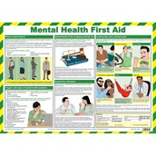 Mental Health First Aid Poster A2 Poster