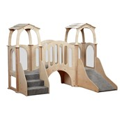 Discovery Bridge Kinder Gym with roof